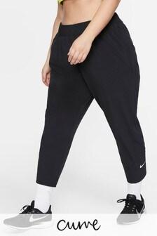 Nike Curve Black 7/8 Running Joggers