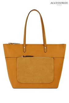 Accessorize Tan Emily Tote Bag