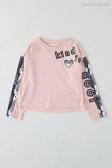 Angel & Rocket Pink Kind Is Cool Top