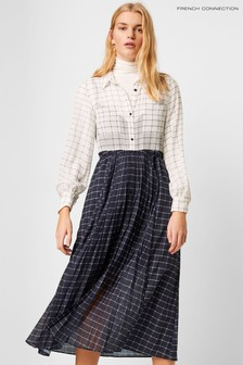 Rochie French Connection Ayn drapată u curea