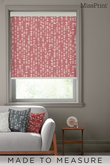 Ditto Cocktail Red Made To Measure Roller Blind by MissPrint