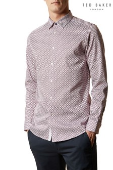 Ted Baker Hedoes Ls Geo Print Shirt