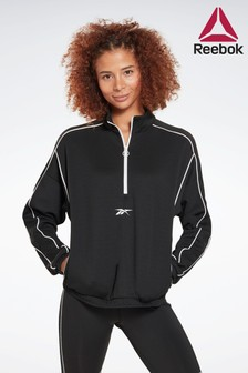 Reebok Workout Ready 1/4 Zip Sweat Top