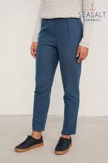 Seasalt Harbour Blue Nanterrow Trousers