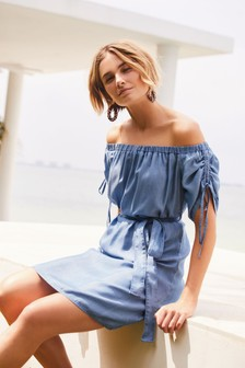 Off The Shoulder TENCEL™ Dress