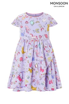 Monsoon Children Blue S.E.W. Baby Arayah Dress