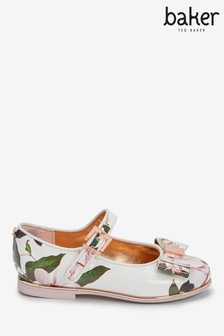 Baker by Ted Baker Opal Floral Bow Mary Jane Shoes