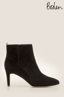 Boden Black Bracknell Ankle Boots