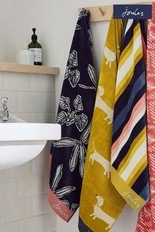 Joules Crayon Floral Towel