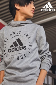 adidas Grey Only The Best Pullover Hoody