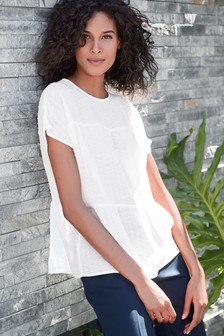 Tiered Short Sleeve Top