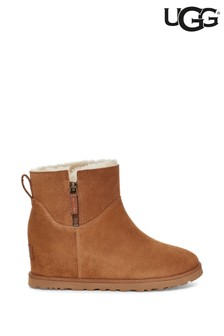 UGG® Chestnut Zip Wedge Boots