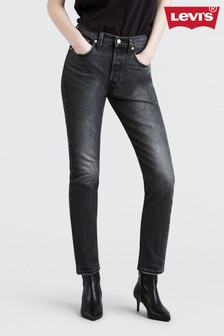 Levi's® 501® Coal Black Washed Skinny Jean