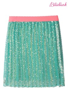 Billieblush Green Pleated Skirt