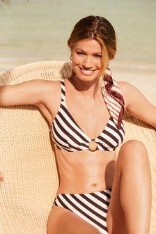 Non Pad Underwired Plunge Bikini Top