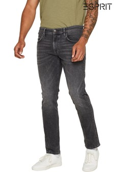 Esprit Washed Grey Stretch Denim Jeans