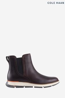 Cole Haan Brown Zerogrand Chelsea Boots