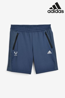 adidas Navy Messi Shorts