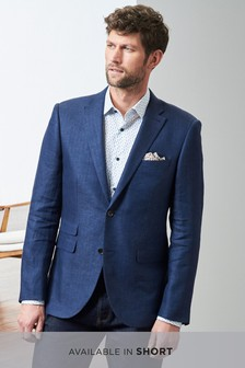 Signature Italian Textured Tailored Fit Jacket