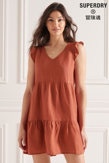 Superdry Tinsley Tiered Dress