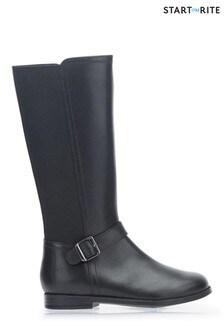 Start-Rite Black Grace Long Boots