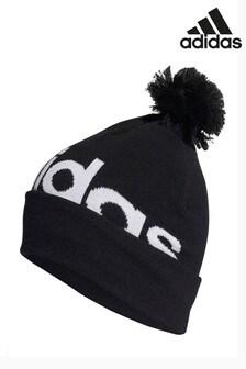 adidas Kids Logo Pom Hat