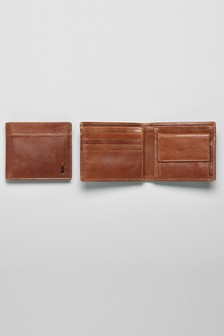 Leather Two Fold Wallet