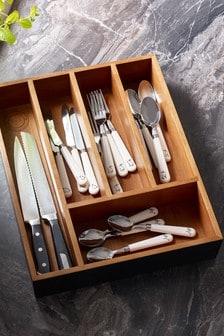 Bronx Wooden Cutlery Tray