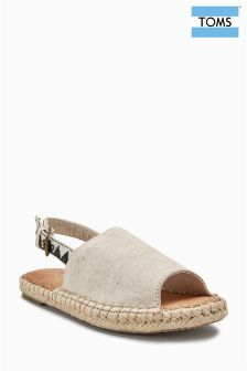 Toms Birch Black Tribal Claral Espadrille