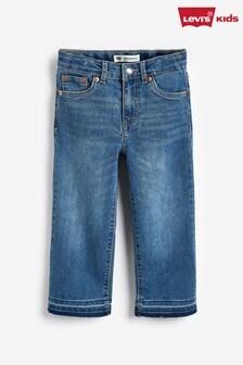 Levi's® Kids Wide Leg Jeans In Aura Wash