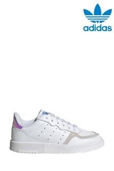 adidas Originals Iridescent Supercourt Junior Trainers