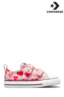 Converse Hearts Chuck Ox Infant Trainers