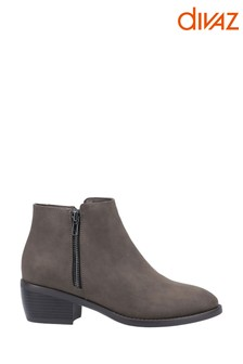 Divaz Green Ruby Ankle Boots
