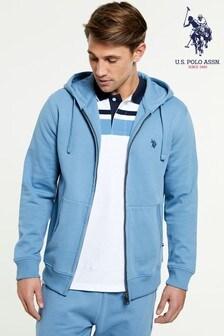 US Polo Assn Logo Zip Hoody