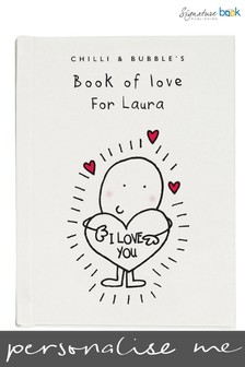 Personalised Chilli and Bubble's Book of Love For Her by Signature Book Publishing