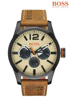 BOSS Tan Watch