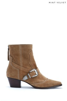 Mint Velvet Anisa Biscuit Western Boots