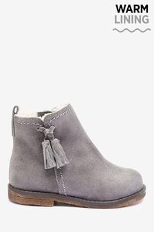 Girls Grey Boots | Grey Chelsea \u0026 Ankle