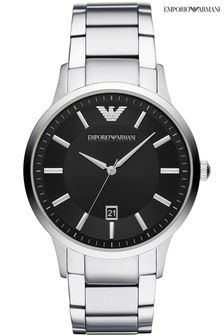 Emporio Armani Black Dial Watch