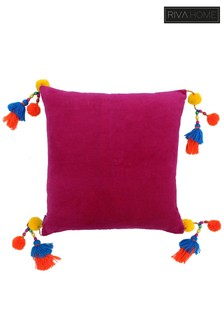 Riva Home Pink Poco Cushion
