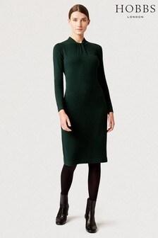 Hobbs Green Kelsey Knitted Dress