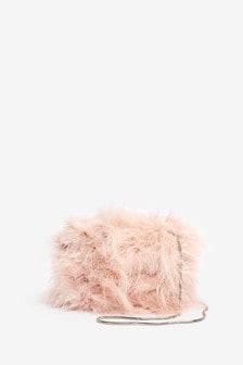 Mini Feather Bag