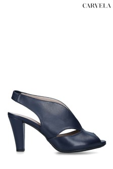 Carvela Blue Arabella Heeled Sandals
