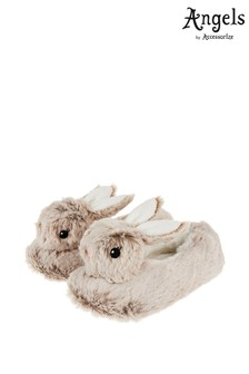 Angels by Accessorize Mink Billi Bunny Slippers