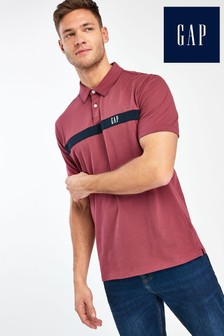Gap Red Logo Polo