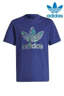 adidas Originals Camo Print Trefoil T-Shirt