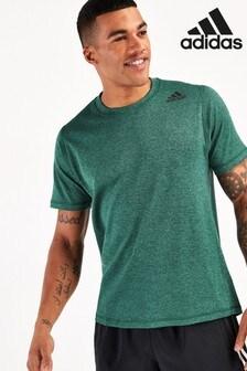 adidas Green Marl Training T-Shirt