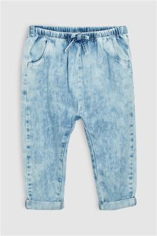 Pull-On Denim Trousers (3mths-6yrs)