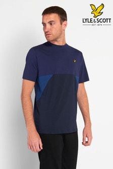 Lyle & Scott Trio Geo Panel T-Shirt
