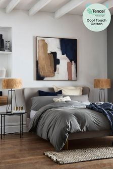 Charcoal Cool Touch TENCEL™ 200 Thread Count Bed Set